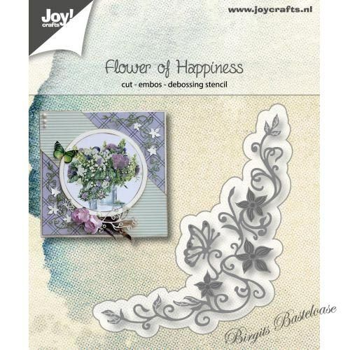 JoyCrafts Stanzschablone Flower of Happiness 6002/1186