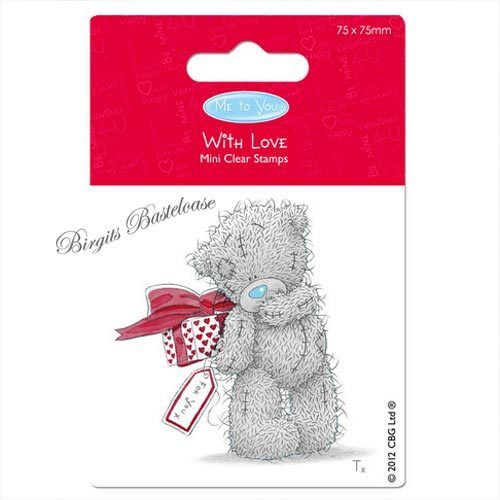 Clear Stamps Stempel Tatty Teddy With Love Geschenk 907105