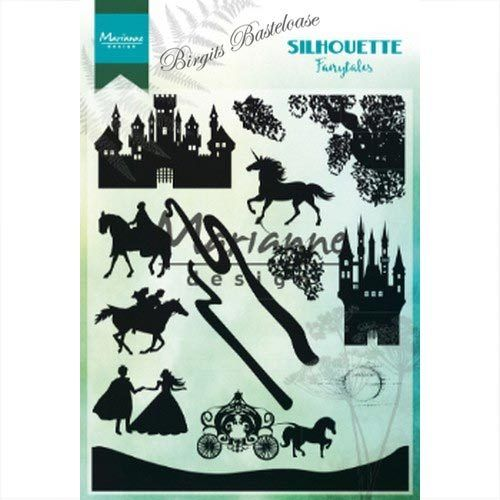 Marianne Design Clear Stamps Silhouette Fairytales CS1020