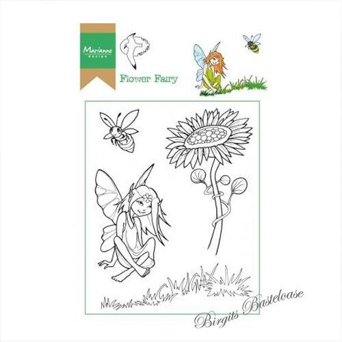 Marianne Design Clear Stamp Elfe, Flower Fairy HT1645