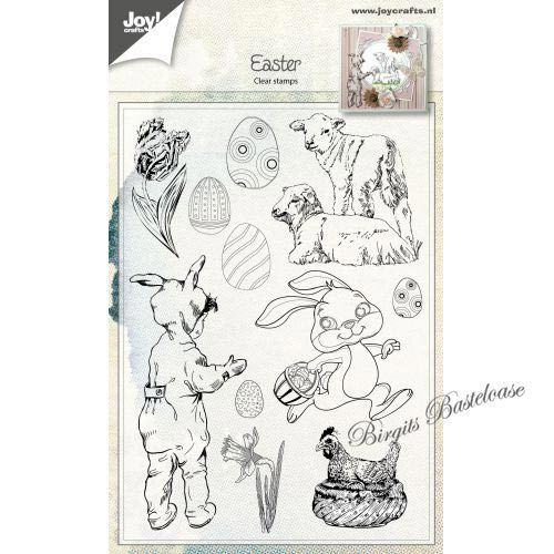 JoyCrafts Clear Stamps Ostern Hase Lämmer 6410/0481