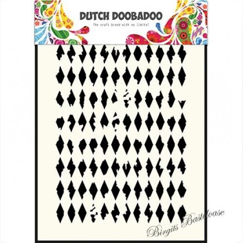 Dutch Doobadoo Mask Art stencil Rauten A5 470.715.121