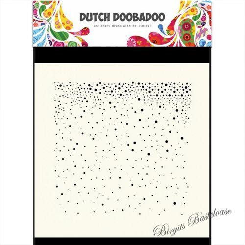 Dutch Doobadoo Mask Art 14,8 x 14,8 cm Schnee Snow 605