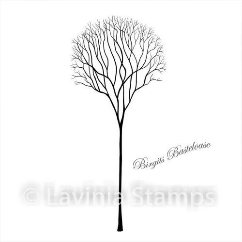 Lavinia Stamps Single Skeleton Tree LAV532