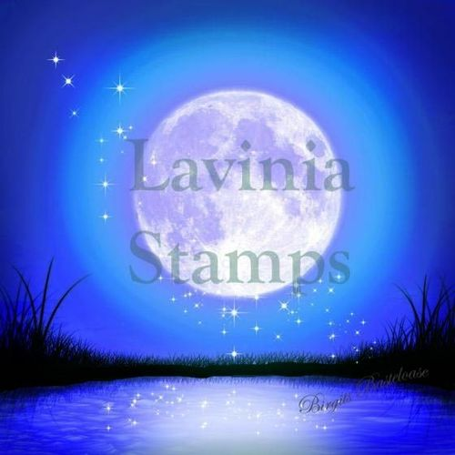 Lavinia Stamps Scene Scapes Design Papier Moonlight glow P03