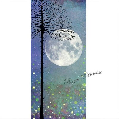 Lavinia Stamps Scene Scapes Design Papier Night-time Magic P07