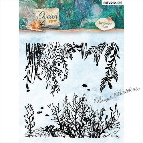 Studiolight Clear Stamps Backgr. Ocean View nr.370 STAMPOV370