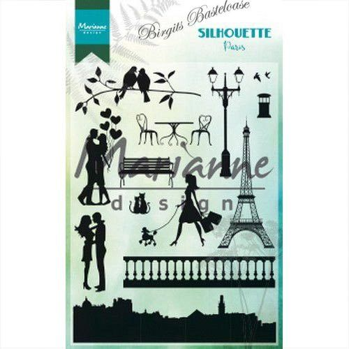 Marianne Design Clear Stamps Silhouette Paris CS1027