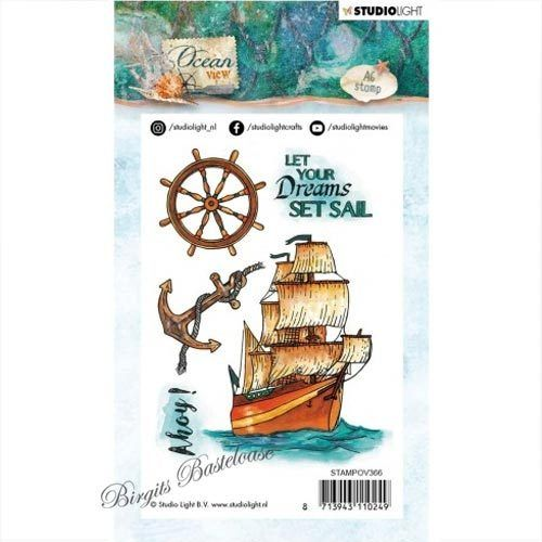 Studiolight Clear Stamps Ocean View nr.366 STAMPOV366