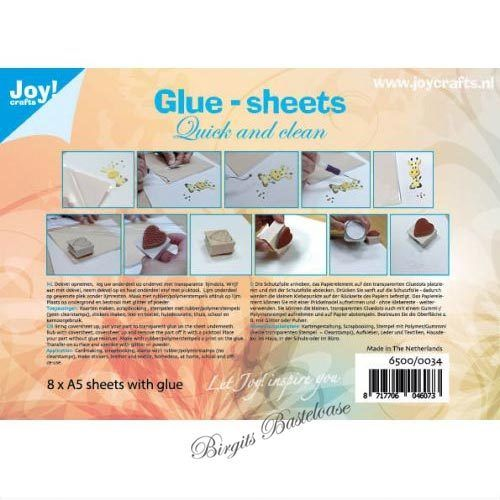 Joy!Crafts Glue-sheets A5 Klebepunkte 8 Blatt 6500/0034