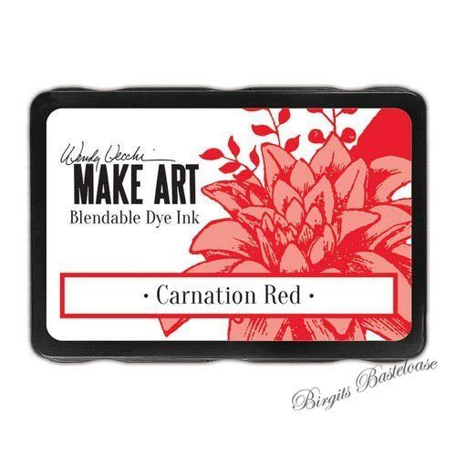 Ranger MAKE ART Dye Ink Pad Carnation Red WVD64312