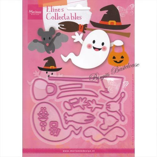 Collectables Stanzschablone 13 tlg Halloween COL1473
