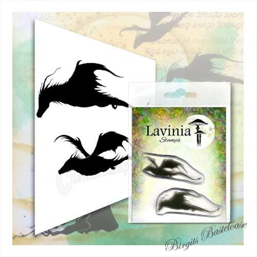Lavinia Stamps Dragon Set LAV552 Drachen
