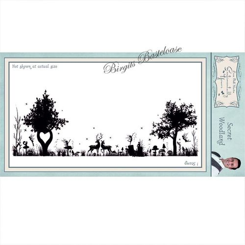 Creative Expressions Cling Stamp secret woodland SYR038