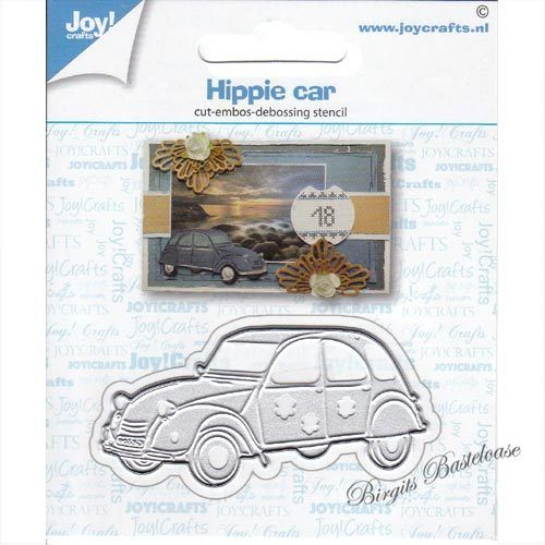 JoyCrafts Stanzschablone Auto, Hippie car 6002/1431