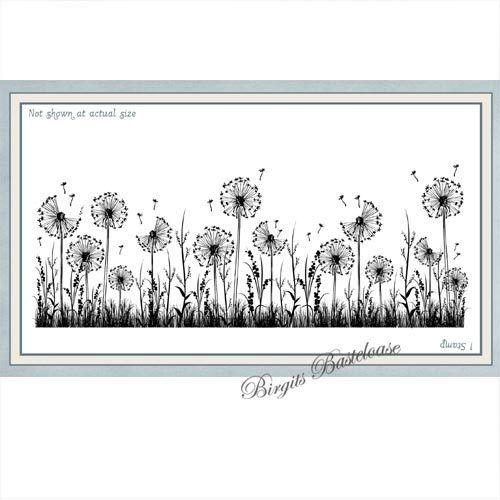 Creative Expressions Cling Stamp Dandelion daydreams SYR041