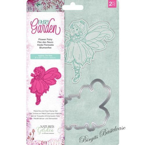 Crafters Companion Stanzschablone + Clear Stamp Fairy STD-FFAI
