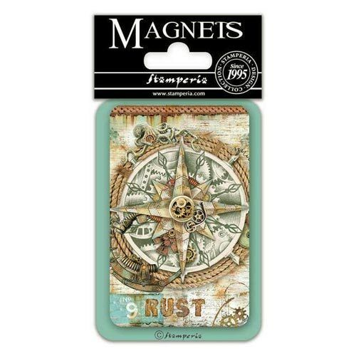 Stamperia Magnet - Sea World compass EMAG045