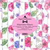 Design Papier Watercolour Flowers 15x15 cm Paper Pack PF133