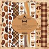Design Papier Coffee 15 x 15 cm Paper Pack PF138