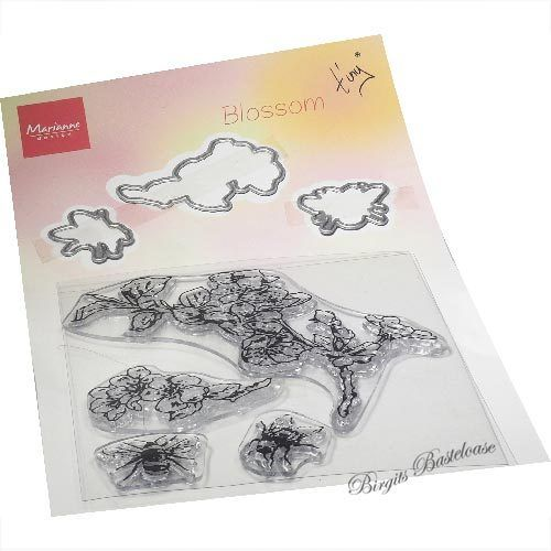 Marianne Design Clear Stamp & Die Tiny's Blossom TC0881