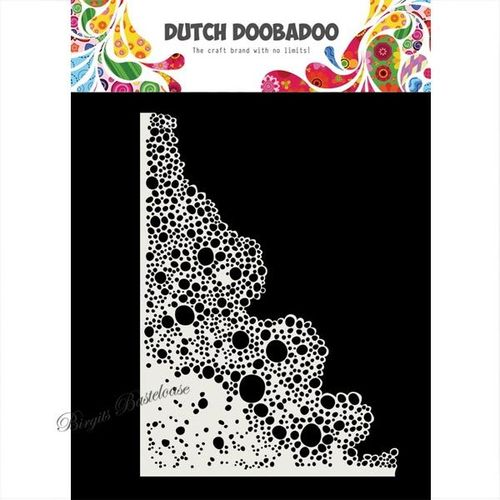 Dutch Doobadoo Mask Art stencil Seifenblasen A5 470.715.167