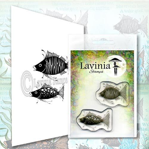 Lavinia Stamps Fish Set LAV621 Fische