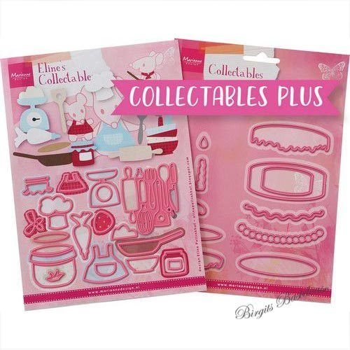 Collectables Plus Stanzschablone Baking Fun PA4129