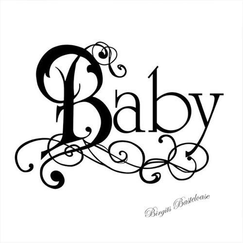 Stamperia Clear Stamp Baby WTK095