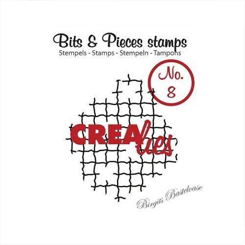 Crealies Clear Stamp Bits&Pieces no. 08 CLBP08